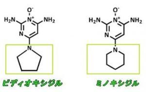 ピディオキシジル・分子構造