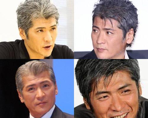 白髪が似合うかっこいい芸能人・吉川晃司