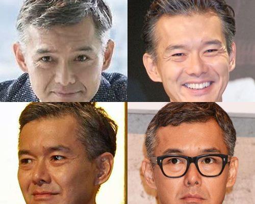 白髪が似合うかっこいい芸能人・渡部篤郎