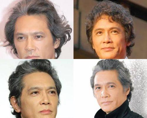 白髪が似合うかっこいい芸能人・加藤雅也