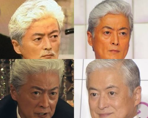 白髪が似合うかっこいい芸能人・陣内孝則