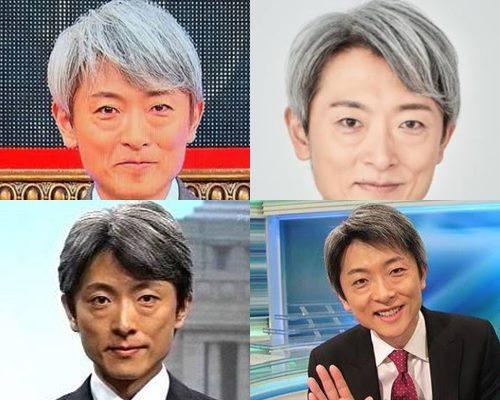 白髪が似合うかっこいい芸能人・登坂淳一