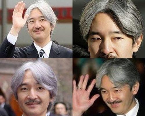 白髪が似合うかっこいい芸能人・秋篠宮さま
