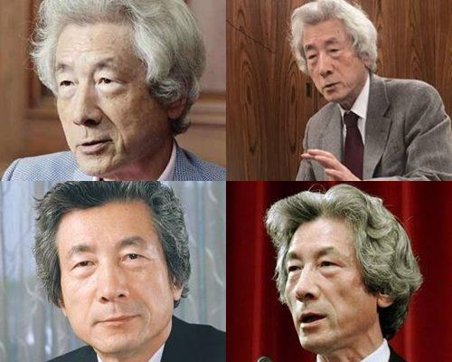 白髪が似合うかっこいい芸能人・小泉純一郎